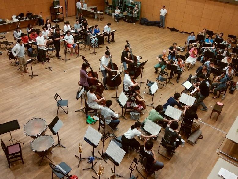 「オペラへの招待」モーツァルト作曲『ドン・ジョヴァンニ』オーケストラ合わせの模様。オーケストラは大阪交響楽団(2018.びわ湖ホール)