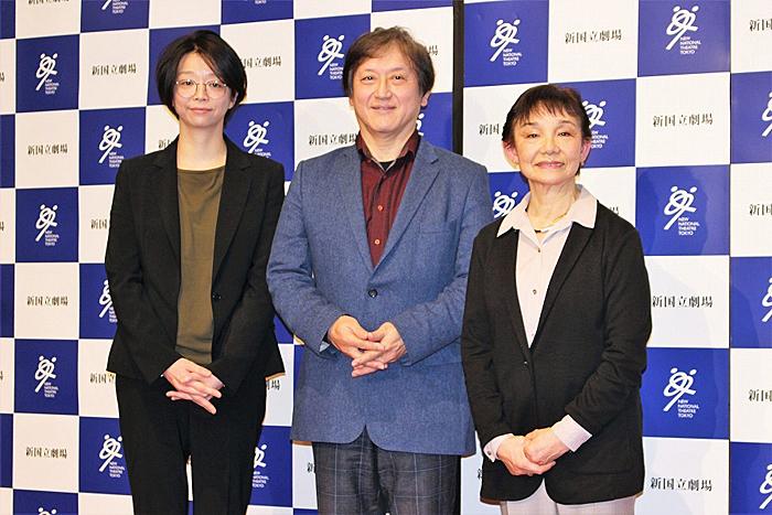 (左から)小川絵梨子、大野和士、大原永子