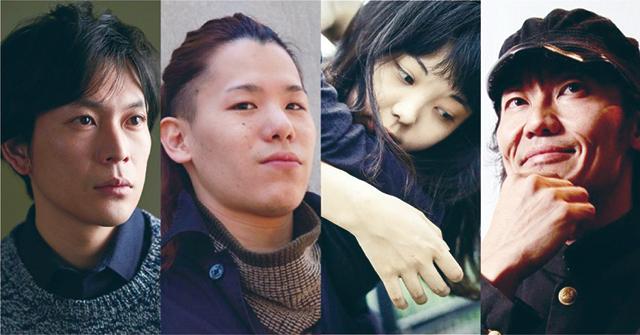 左より:川口 覚/北尾 亘/入手杏奈/近藤良平