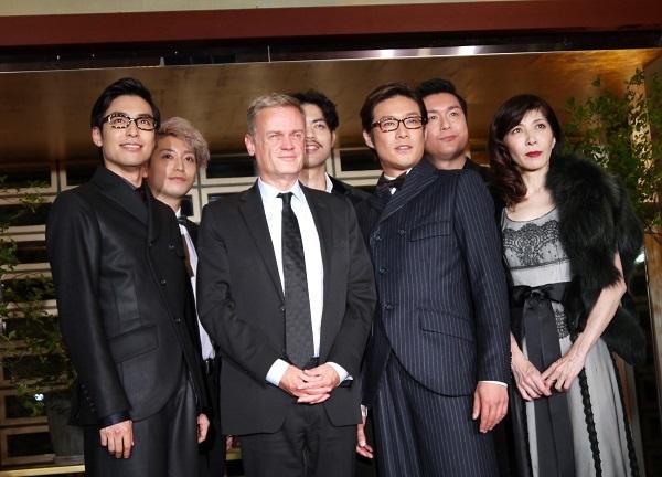 ミュージカル「イヴ・サンローラン」製作発表 ローラン・ピック駐日フランス大使と登壇出演者