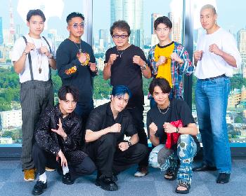 「刃牙」シリーズ原作者 板垣恵介とNetflixアニメ『範馬刃牙』EDテーマを歌うGENERATIONSの対談が実現