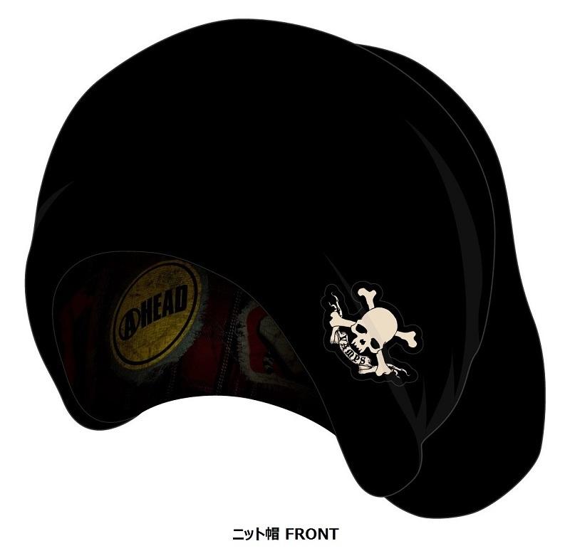 VAMPS ニット帽(FRONT)