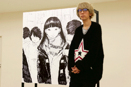 漫画家・浅野いにお、初のライブドローイングに挑戦! 『画業20周年記念企画 浅野いにおの世界展〜Ctrl+T2〜』レポート