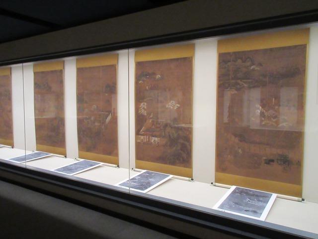 本展で新たな見方を提示している「真言八祖行状図」