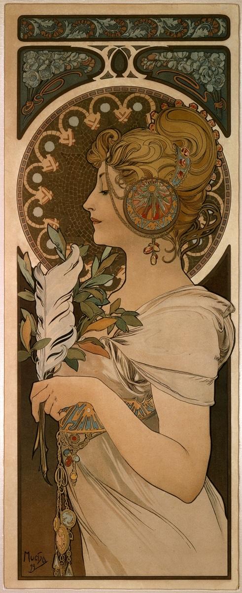 「羽根」1899年 OGATAコレクション
