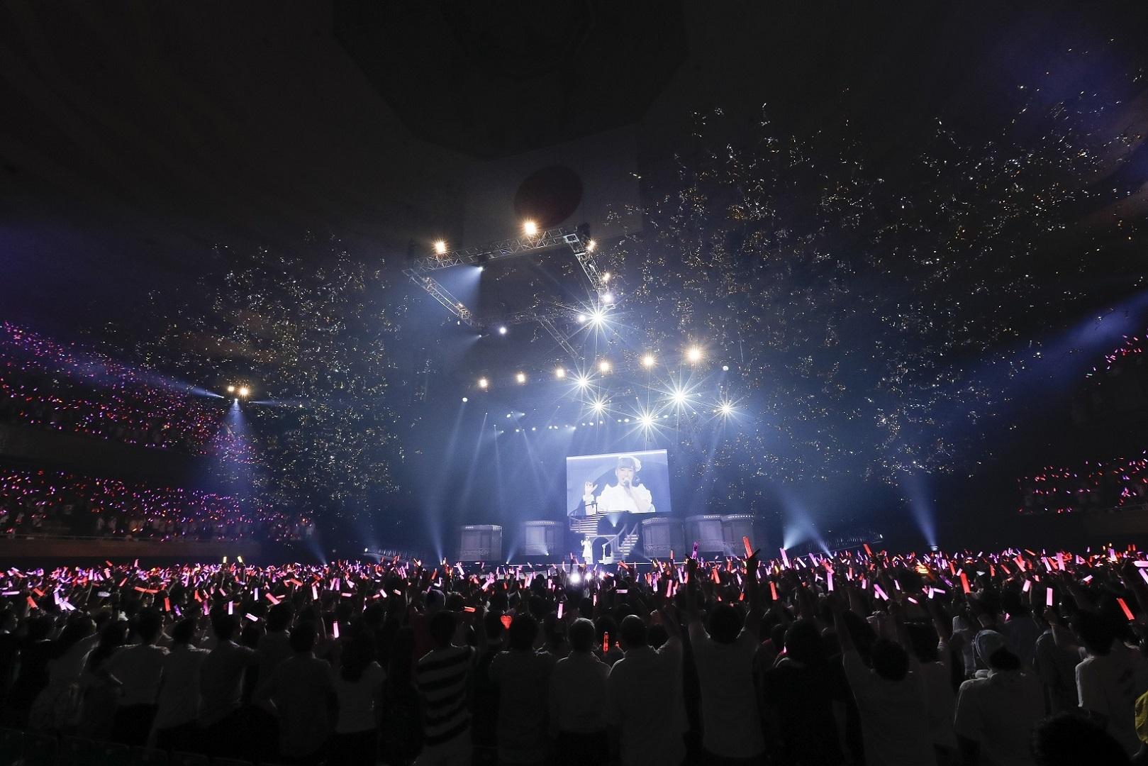 内田彩ワンマンライブ『AYA UCHIDA Complete LIVE ~COLORS~』 撮影=草刈雅之