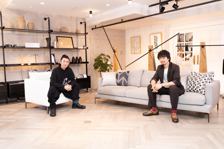 左から、永瀬正敏、斎藤工 WOWOW『特集:ミニシアターに愛をこめて』