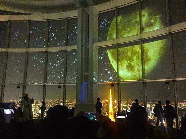 AR三兄弟《星空のイルミネーション》2015 年 (六本木ヒルズ展望台 東京シティビュー)