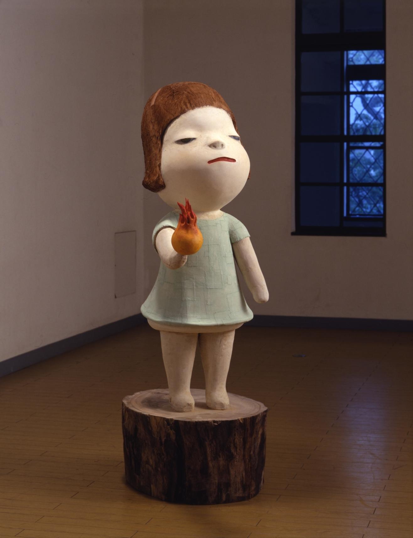 奈良美智《ハートに火をつけて》 2001年  cYoshitomo Nara, Courtesy of the artist