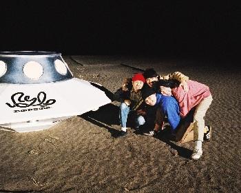 never young beach、九十九里海岸で撮影したアルバム『STORY』のキービジュアルを公開