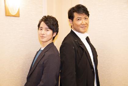 初共演の別所哲也と村井良大にインタビュー! ニール・サイモンのコメディ『ローズのジレンマ』に出演