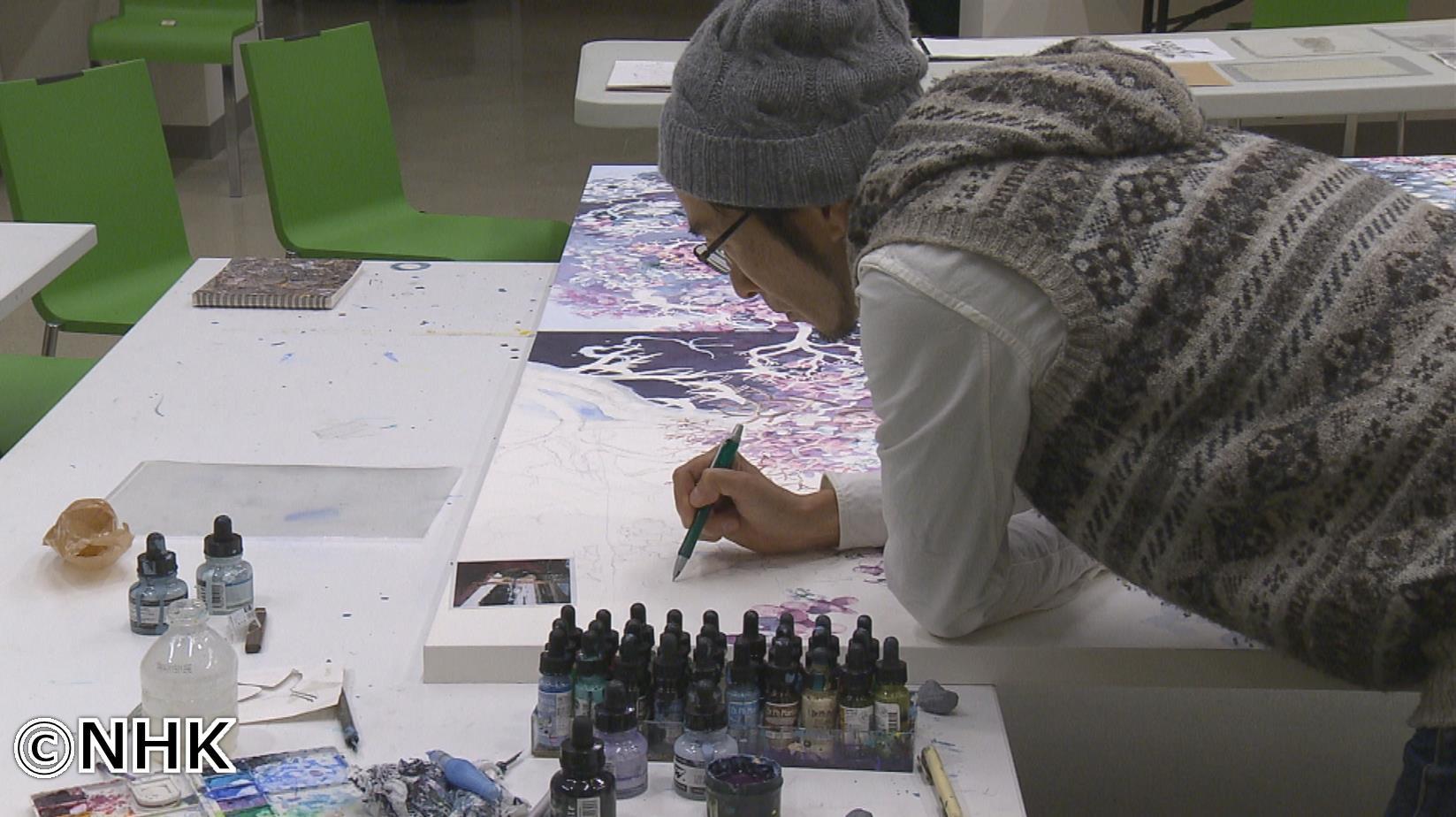 NHK BS1 「明日世界が終わるとしても」:ペン一本まだ見ぬ頂へ~画家・池田学~