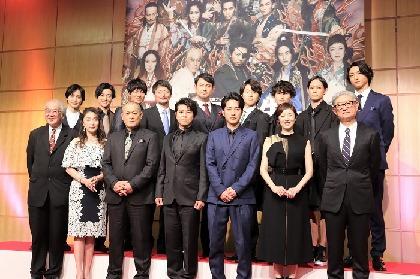 原作ファンの上川隆也「無茶苦茶やらないと出来ない作品!」と決意 舞台『魔界転生』制作発表会見