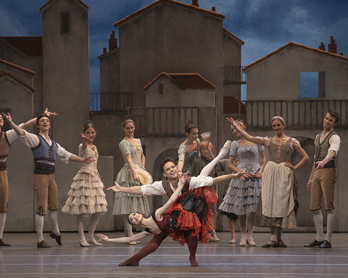 Akane Takada and Alexander Campbell in The Royal Ballet's Don Quixote