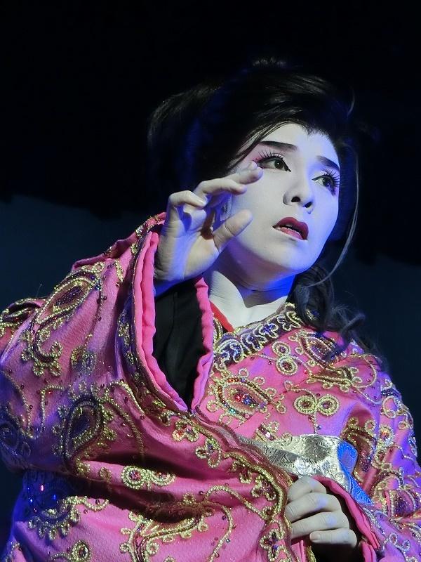 客席に大きな衝撃を与えた個人舞踊『夢やぶれて』(2016/1/10)