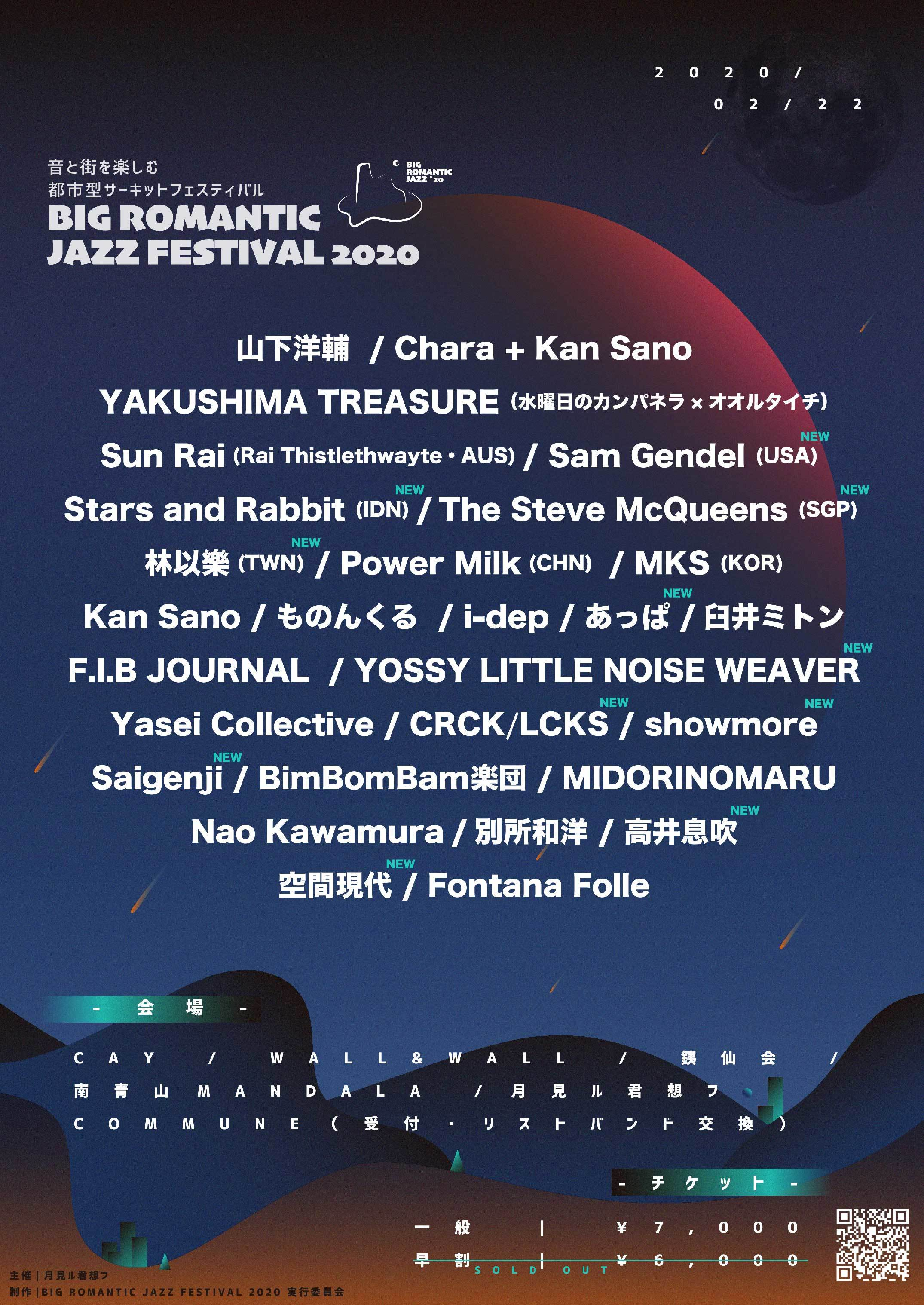 BIG ROMANTIC JAZZ FESTIVAL 2020