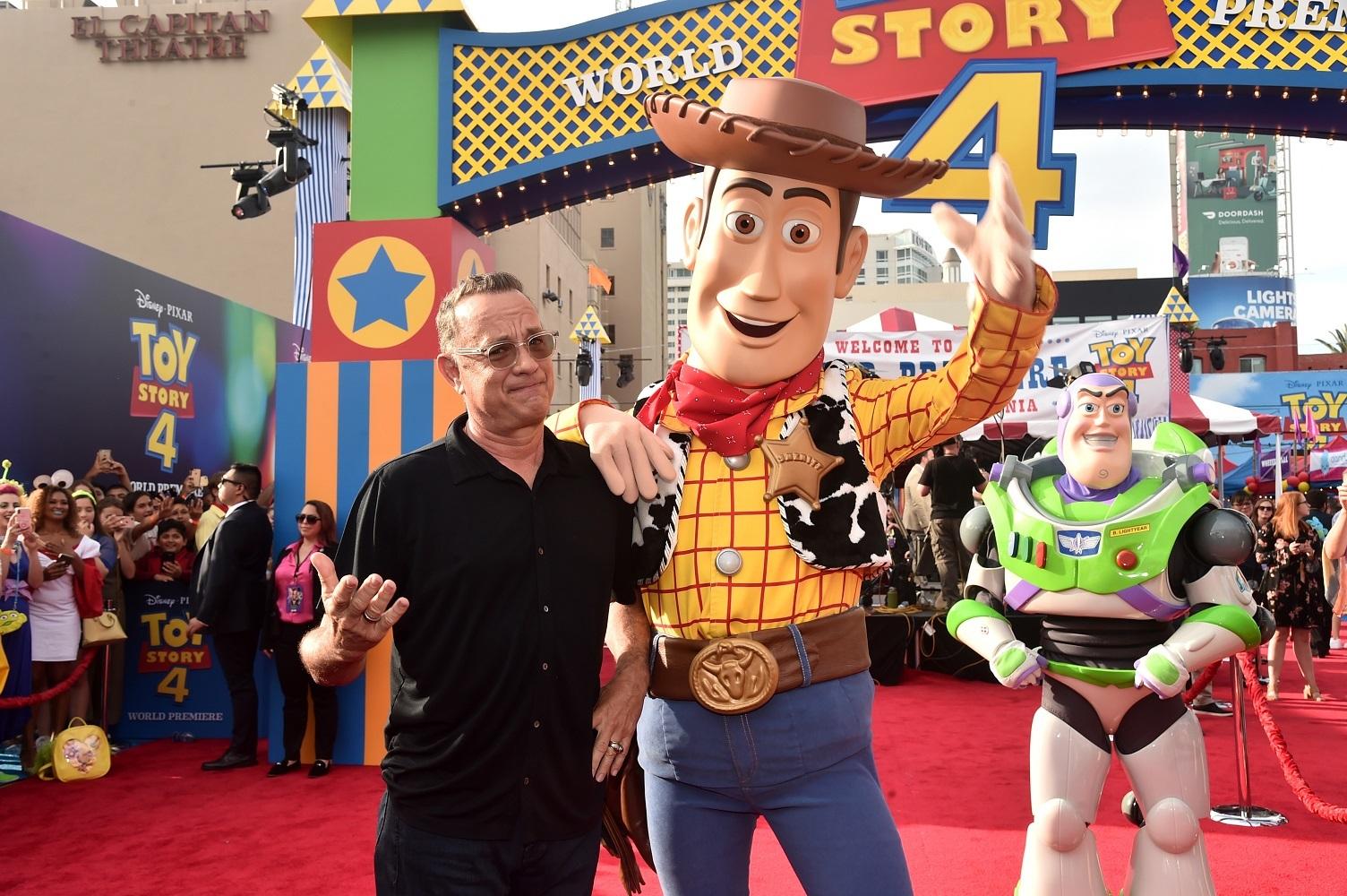 トム・ハンクス (C)2019 Disney/Pixar. All Rights Reserved.