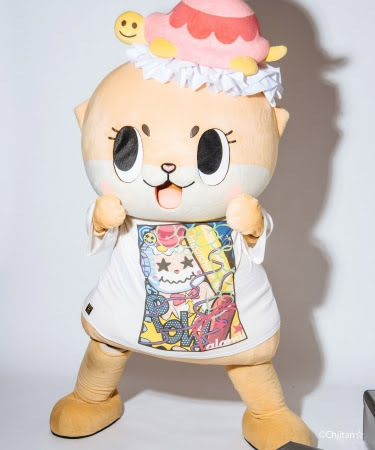 Smashing chiitan BIG T  8,900円+tax 2018年10月上旬発売 COLOR:White SIZE:ONE SIZE