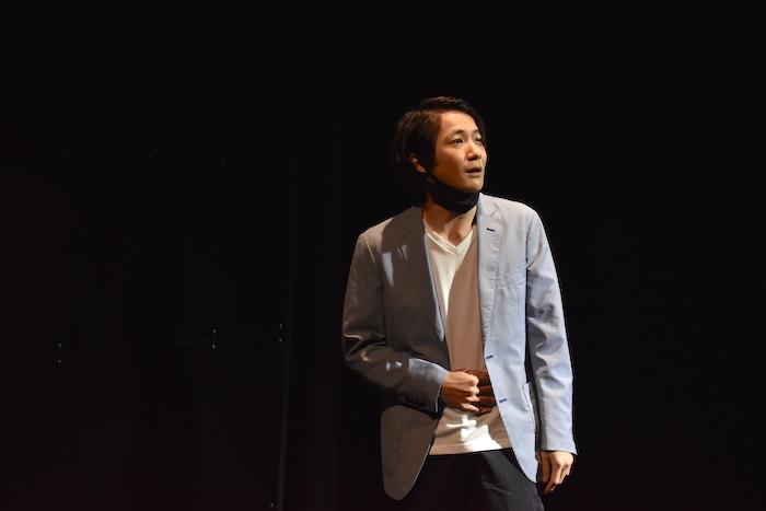 舞台「観劇者」ゲネプロの様子 ©️2021 kangekisha(撮影:五月女菜穂)