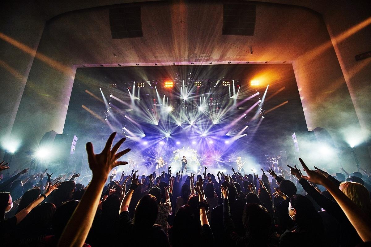 LUNA SEA『LUNA SEA 30th Anniversary Tour 2020-CROSS THE UNIVERSE-』三郷市文化会館 撮影=田辺佳子