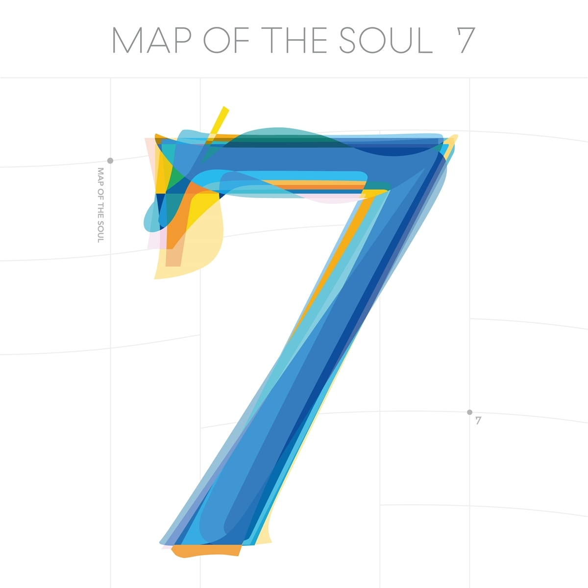 BTS『MAP OF THE SOUL : 7』配信ジャケット  Photo by Big Hit Entertainment