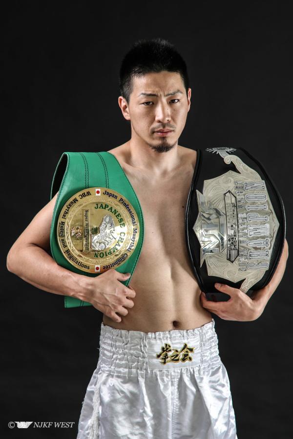 白神武央 (拳之会) WBCムエタイ日本統一スーパーウェルター級王者
