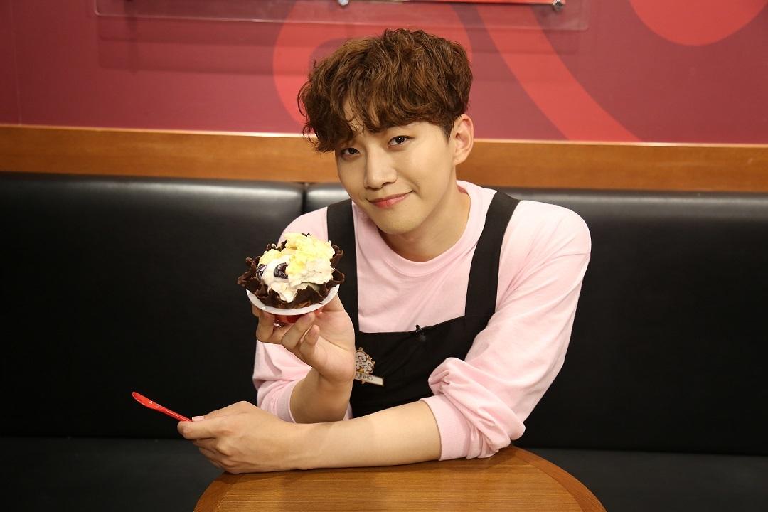 JUNHO (From 2PM)&オリジナルアイス写真