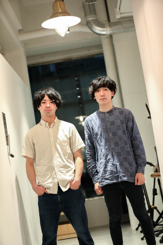 the quiet room・斉藤弦 / 菊池遼  撮影=風間大洋