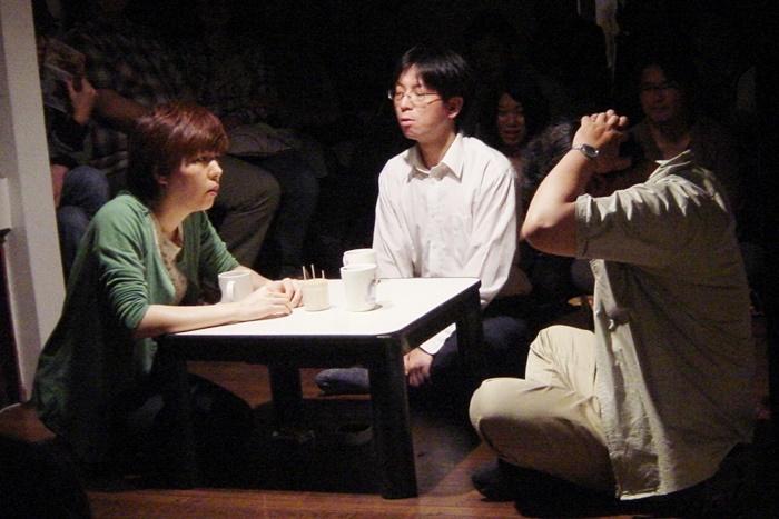 雨傘屋『隣りにいても一人』初演(作:平田オリザ/2011年)