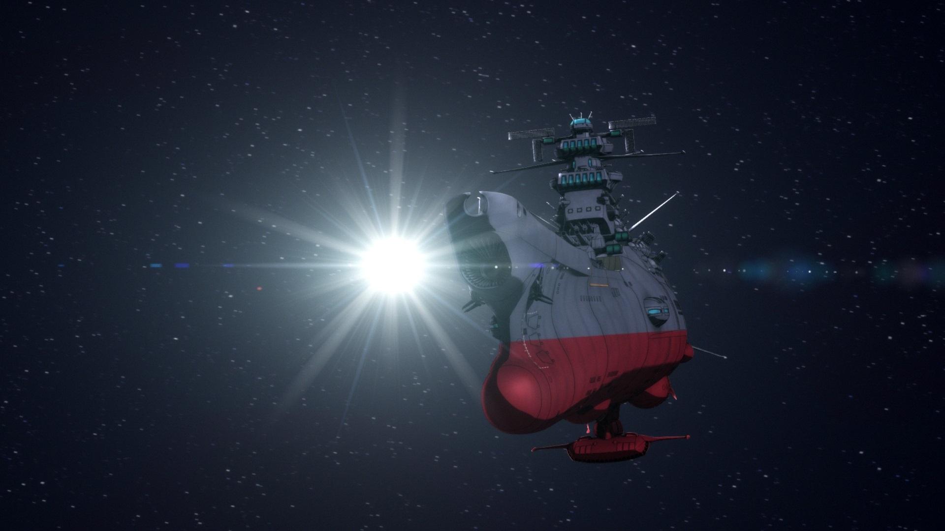 『宇宙戦艦ヤマト2205』 ヤマトーク用冒頭場面カット (c)西﨑義展/宇宙戦艦ヤマト2205製作委員会