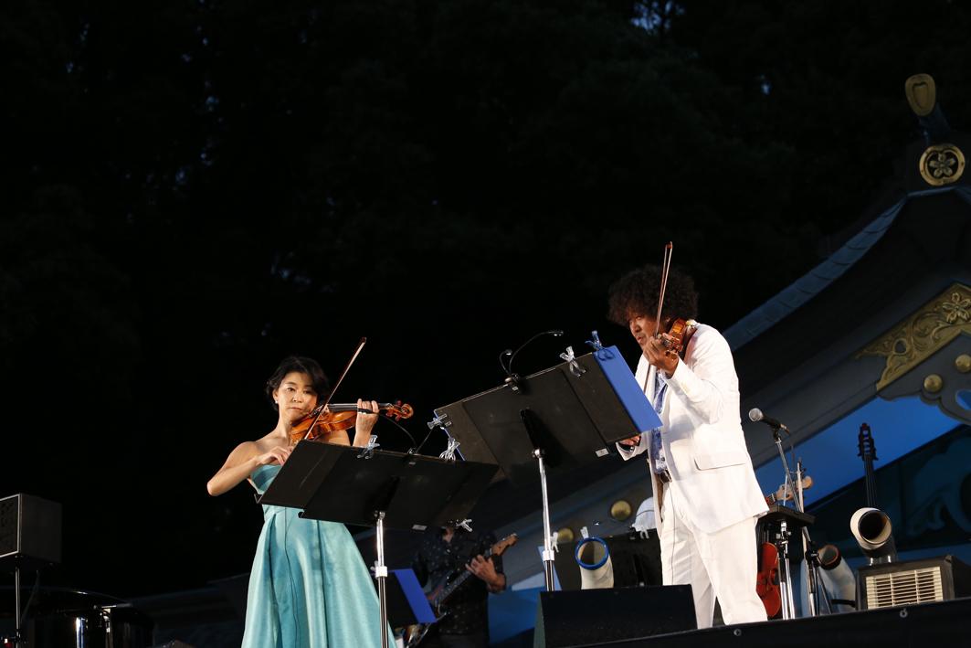 高嶋ちさ子、葉加瀬太郎『福岡音楽祭 音恵 ONKEI 2016』
