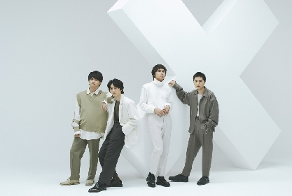 DISH// 4枚目のアルバム『X』にGLIM SPANKY、くじらが楽曲提供で参加決定、収録曲も全曲公開