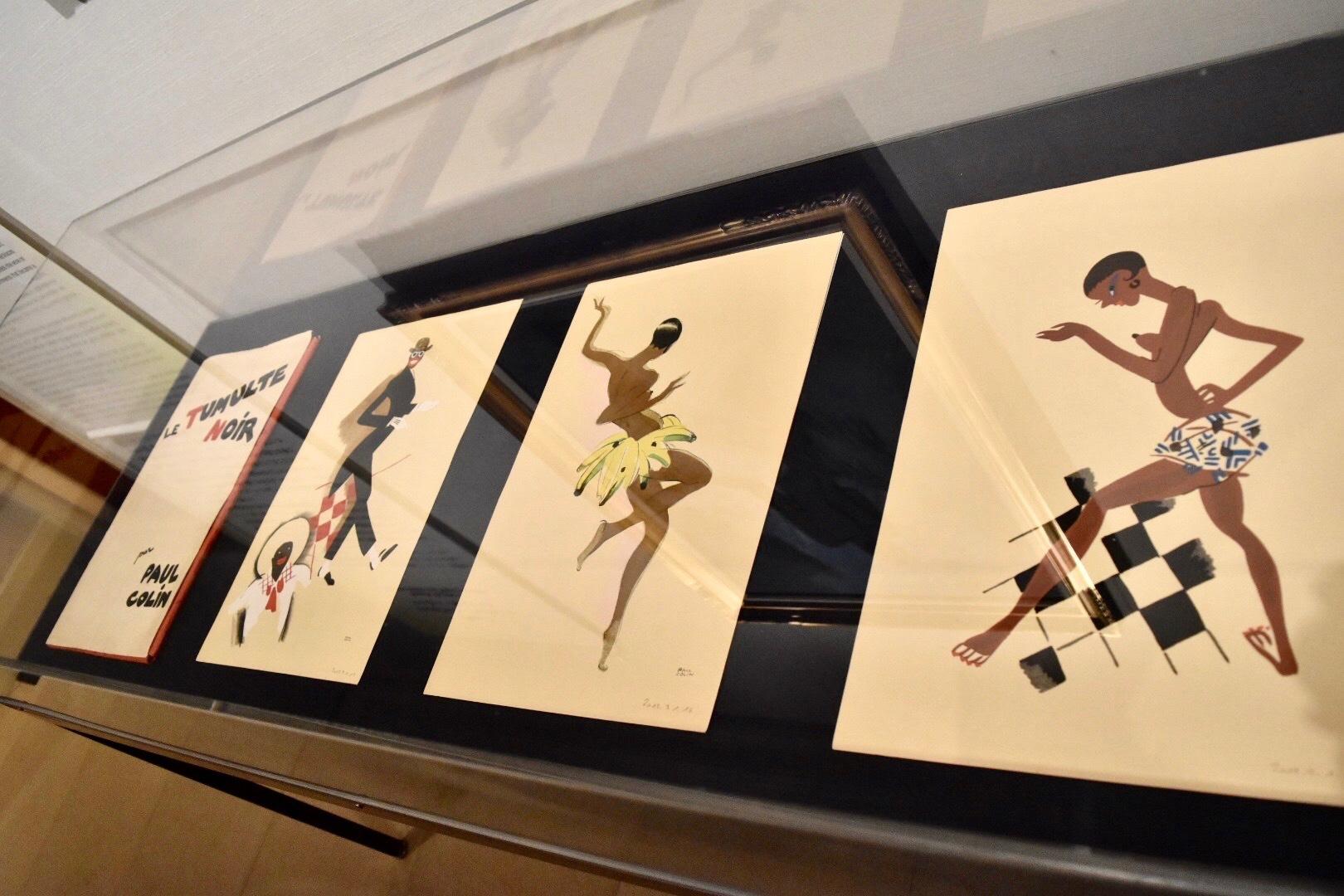 『黒い喧騒』 ポール・コラン 1929年頃 30年代美術館(ブーローニュ=ビヤンクール)蔵