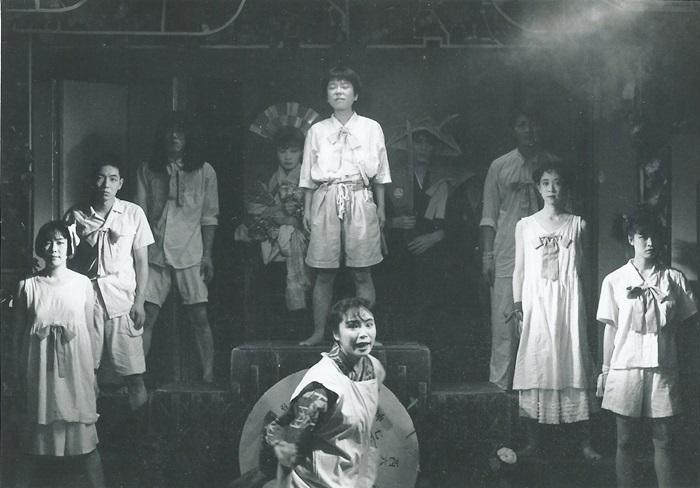 少年王者舘『マバタキノ棺(再演)』(1991年) [撮影]羽鳥直志