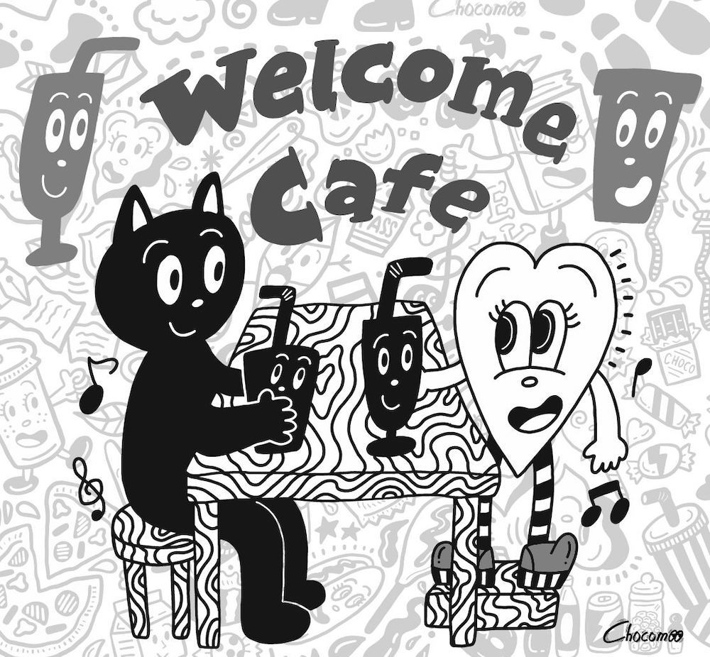 『Welcome cafe by.Chocomoo』