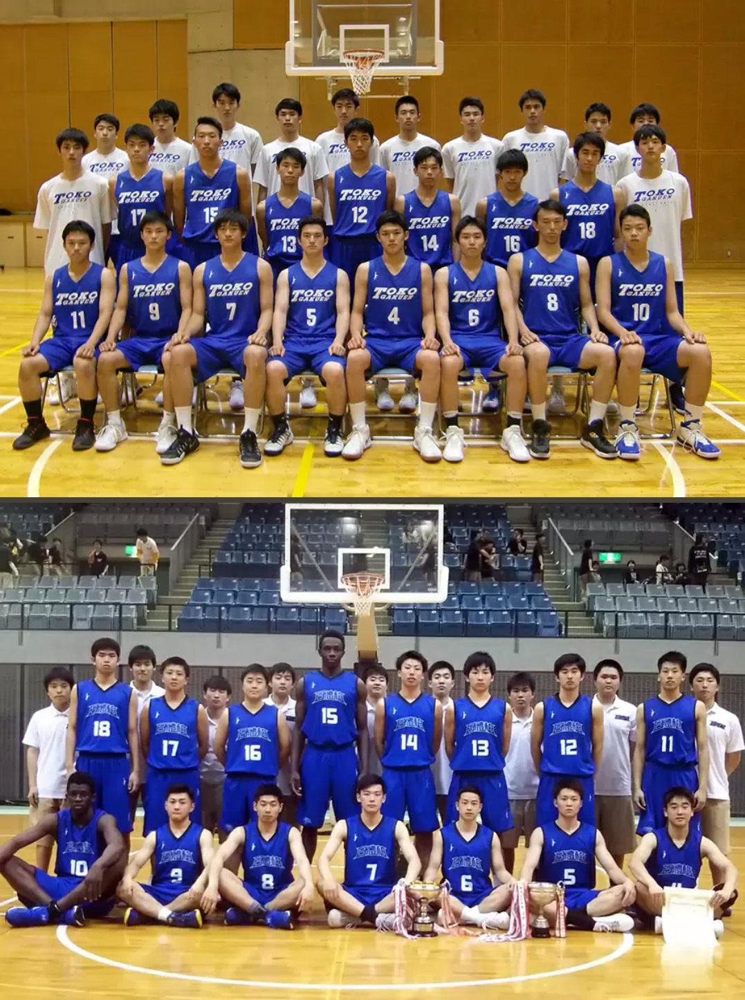 神奈川県代表の桐光学園高等学校(川崎市)と千葉県代表の日本体育大学柏高等学校