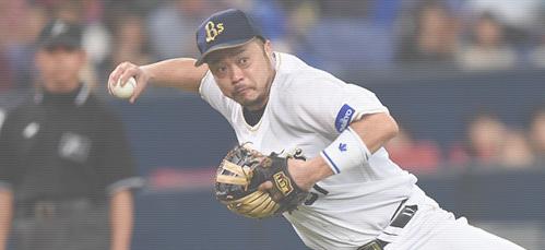 三塁手として北海道日本ハムファイターズ、オリックス・バファローズで活躍した
