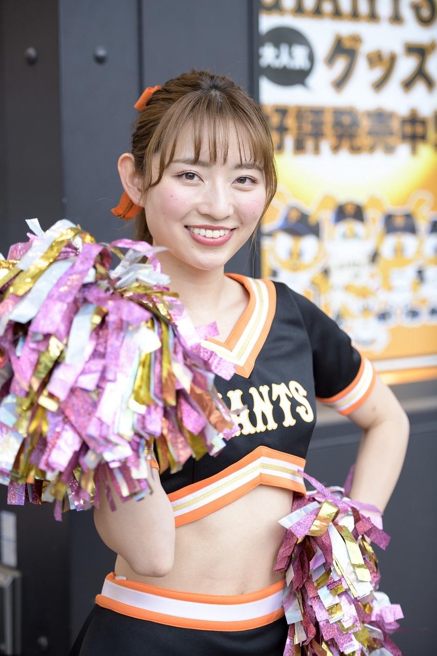 「やっぱりイニング間のイベントがたくさんあるのが東京ドーム観戦の見所。毎回ヴィーナスが登場しますし、スーパーバズーカでもヴィーナスにアピールして楽しんでいただければと思います」(楠菜さん)