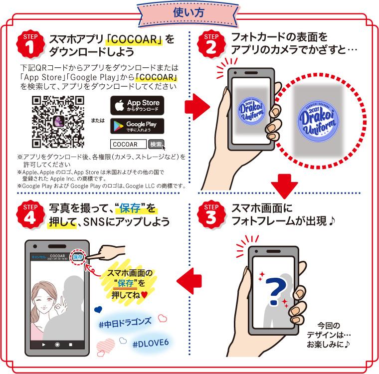 「D-LOVE♥6」フォトフレームの利用方法