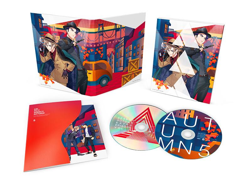 TVアニメ『A3!』Blu-ray&DVD第5巻 展開