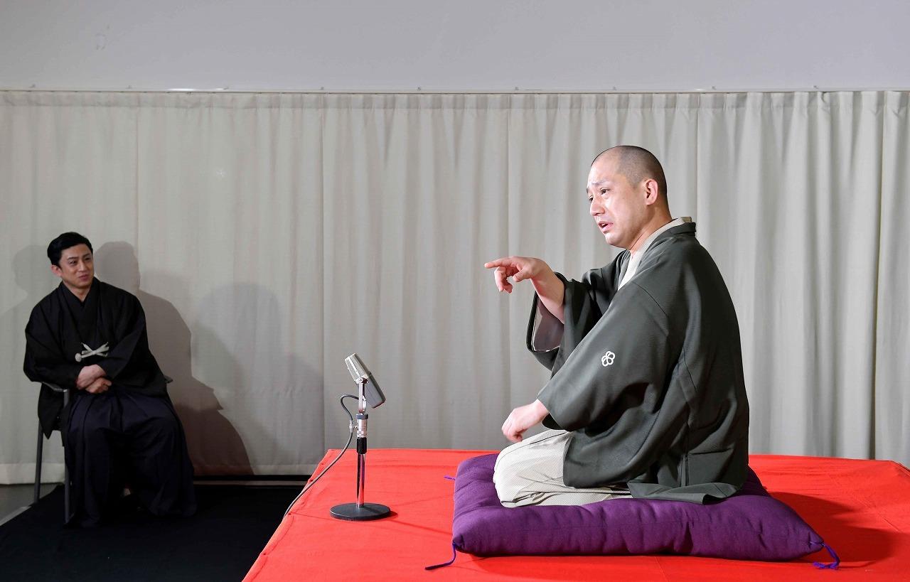 (左から)松本幸四郎、春風亭一之輔 /(C)松竹