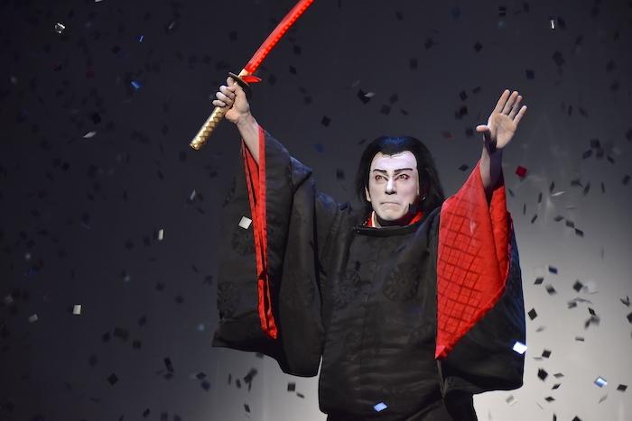 一夜限りの『スター・ウォーズ歌舞伎〜煉之介光刃三本〜』の様子