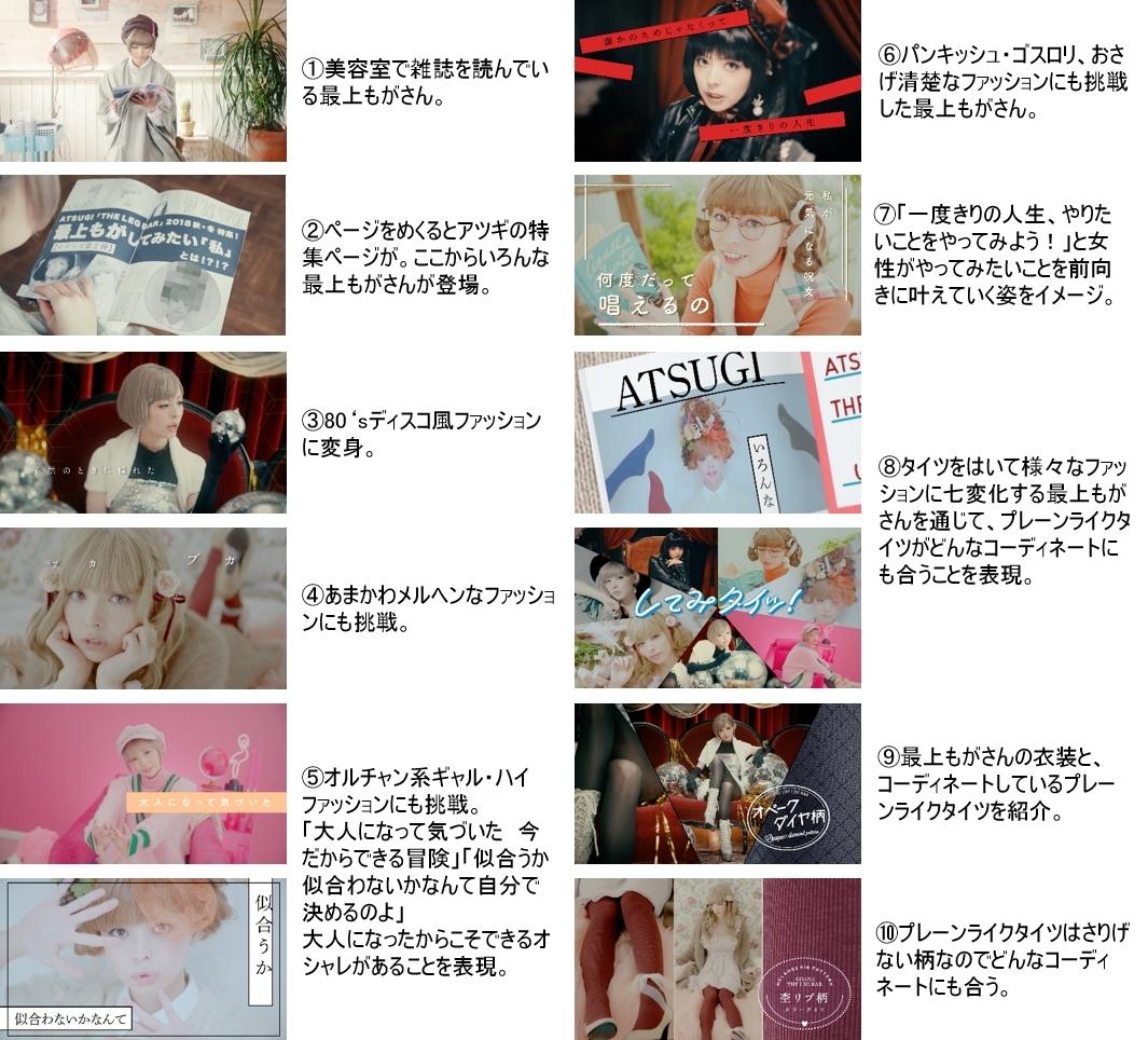 最上もが『ATSUGI THE LEG BAR』MV第2弾「してみタイッ!」