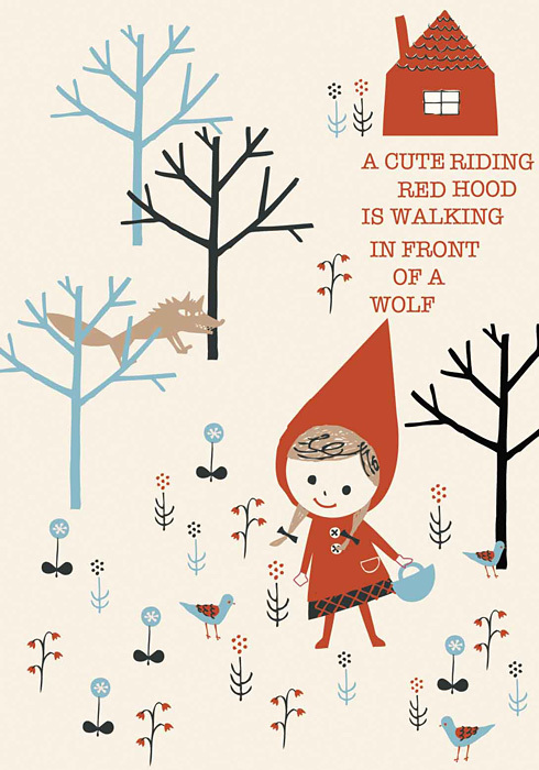 Little Red Riding Hood Design by ©Shinzi Katoh™ Licensed by Copyrights Asia