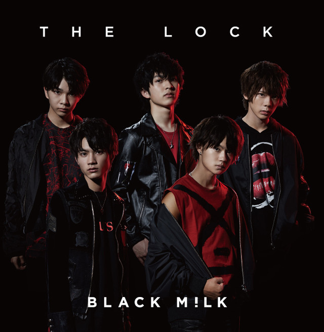 BLACK M!LK「THE LOCK」ジャケット