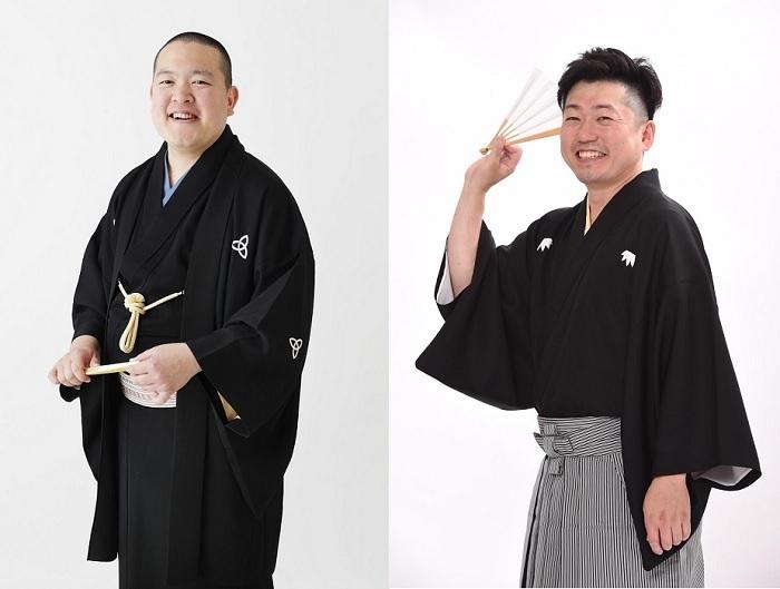 (左から)桂鷹治、笑福亭希光