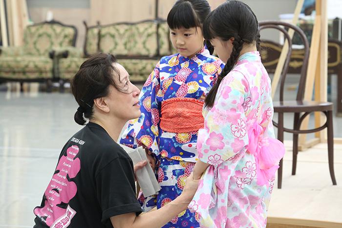 『土佐堀川 近代ニッポン-女性を花咲かせた女 広岡浅子の生涯』稽古場