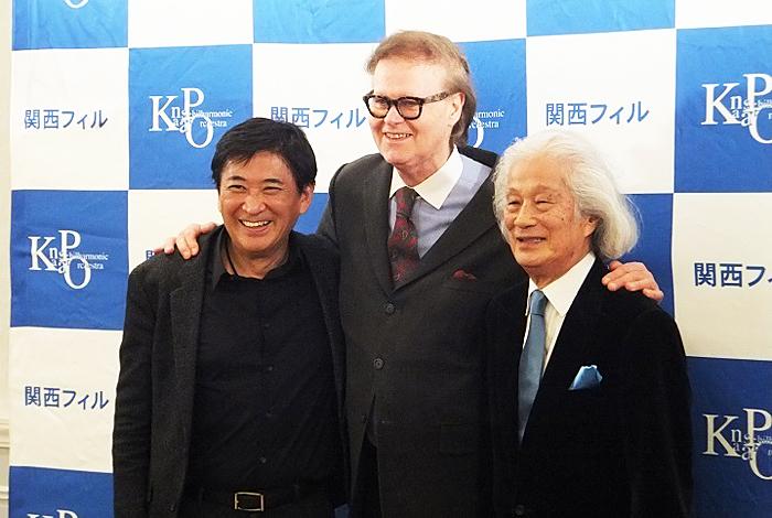 関西フィルが誇る3人のマエストロ (C)H.isojima