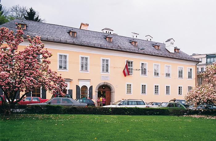ザルツブルクのモーツァルトの住家 ©Tourismus Salzburg