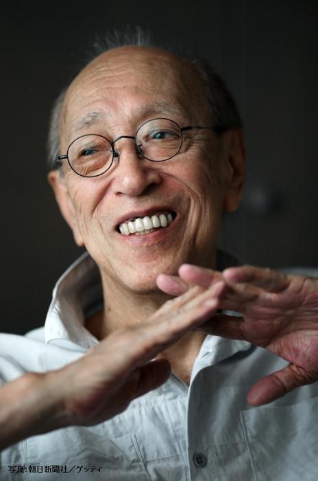 蜷川幸雄さん (写真:朝日新聞社/ゲッティ)